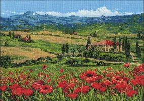 "Embroidery ""Tuscany"""