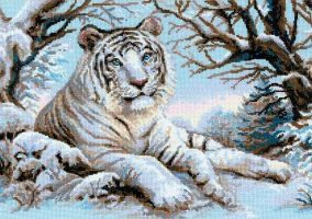"Embroidery ""Bengal tiger"""