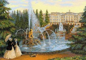 "Bordado ""Peterhof"""