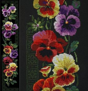"Broderie ""Pansy"""