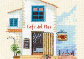 "Stickerei ""Cafe del Mar"""