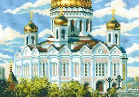 "Вышивка ""Cathedral of Christ the Savior"""
