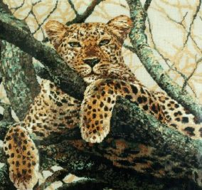 "Broderie ""Leopard"""
