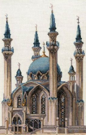 "Embroidery ""The Kul-Sharif Mosque"""