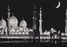 "Izšūšana ""Sheikh Zayed Grand Mosque"""