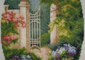 "Broderie ""In parc"""
