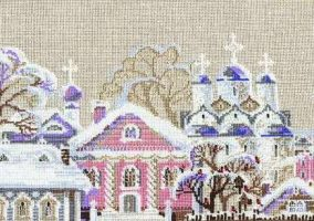 "Broderi ""Winter in the City"""