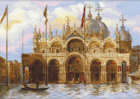 "Embroidery ""Venice. Piazza San Marco"""