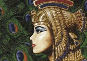 "Broderi ""Princess of Egypt"""
