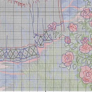 Embroidery scheme Summer walk (Dimensions) 3 from 3