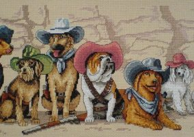 "Broderie ""The Magnificent Seven"""