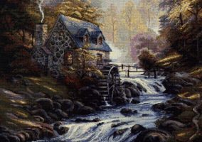 "ВЫШИВКА ""Watermill"""
