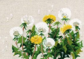 "Embroidery ""Dandelions"""
