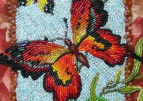 Beaded womens fascinating hobby