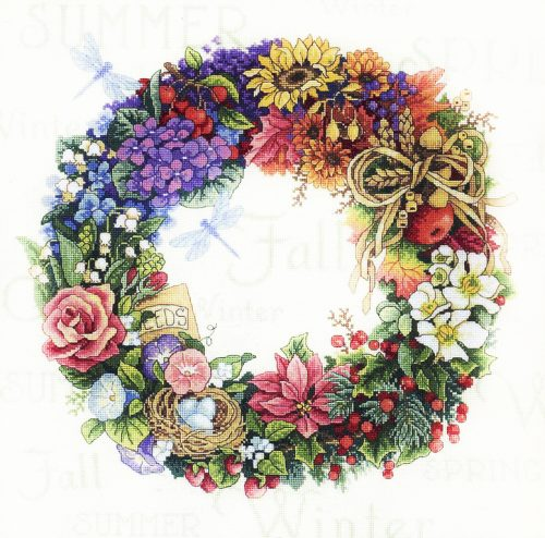 Вышивка Wreath of all Seasons (Dimensions)