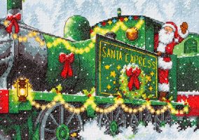 "Embroidery ""Santa Express"""