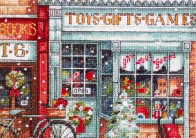 Stickerei «Toy Shoppe»