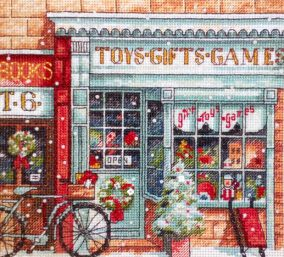 "Embroidery ""Toy Shoppe"""