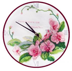 "Embroidery ""Watch-orchids"""