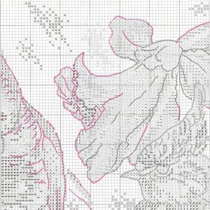 Embroidery scheme breath of spring (RTO) 2 from 6