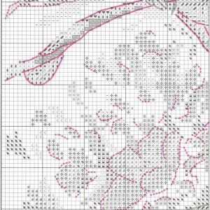 Embroidery scheme breath of spring (RTO) 4 from 6