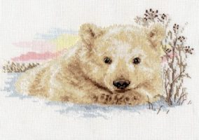 "Embroidery ""Northern bear"""