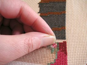 The choice of fabric for embroidery