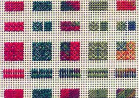 Perforated paper for embroidery
