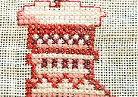 Embroidery on pure linen