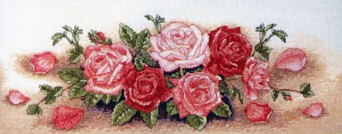 Вышивка Spray Roses (Kotwica)