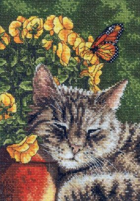 "Embroidery ""Afternoon Nap"""