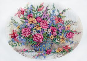 "Embroidery ""Floral splendor"""