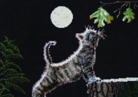"Embroidery ""Luna and Max"""