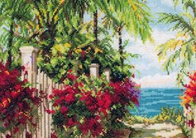 "Cross stitch ""Seaside Gang"""