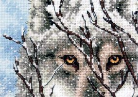 "Embroidery ""Wolf"""