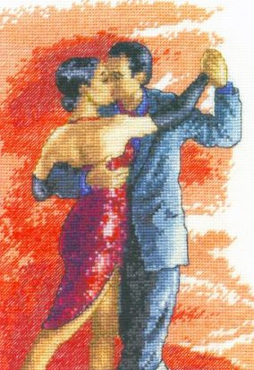 "Stickerei ""Latin dance"""