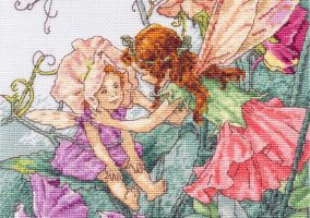 "Embroidery ""Sweet Pea Fairies"""