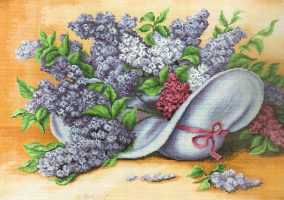 "Embroidery ""Lilac"""