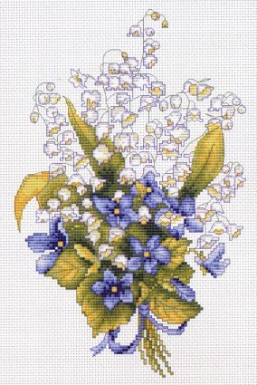 "Embroidery ""Lilies of the valley"""