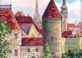 "Stickerei ""Old Tallinn"""