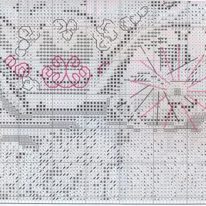 Embroidery scheme romantic stroll (RTO) 4 from 4