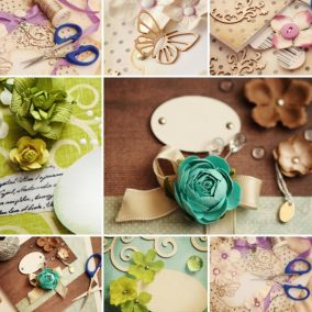 What you need for scrapbooking