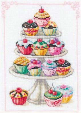 "Embroidery ""Mountain cakes"""