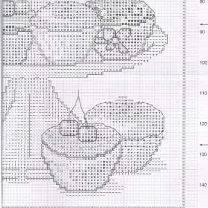 Embroidery scheme Mountain cakes (Vervaco) 4 from 4