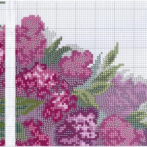 Embroidery scheme Lilac (Fascinating MYT) 2 from 4