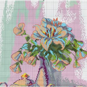 Embroidery scheme morning tea (Charyvna moment) 1 from 2