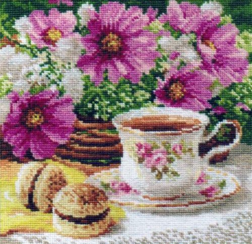Embroidery morning tea (Alice)