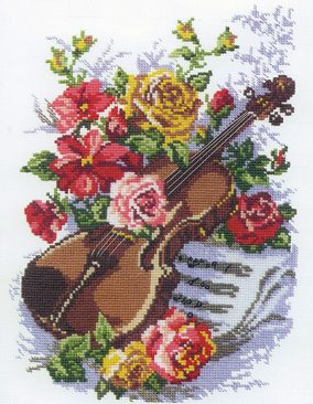 "Embroidery  ""Inspiration"""