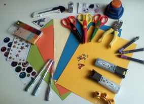 Materials for scrapbooking. The main selection criteria