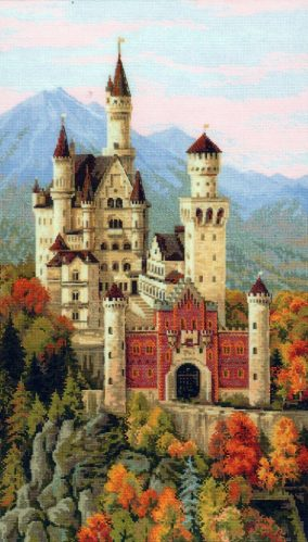 "Bordado ""Neuschwanstein"""